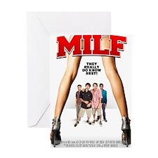 MILF Poster Greeting Card