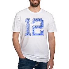 12, Blue, Vintage Shirt