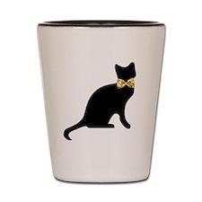 Bow tie Cat Shot Glass