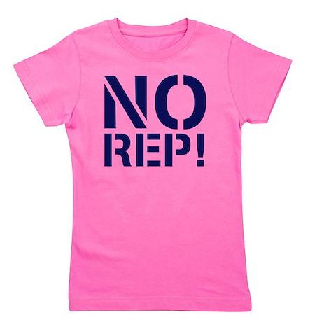 No Rep Girl's Tee