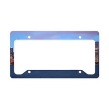 Morning Skyline License Plate Holder