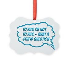 ride Ornament