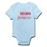 daddy is a hero & i'm his pri Onesie