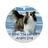 Singing Sheltie Ornament