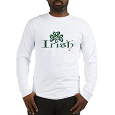 Irish: Celtic Shamrock Long Sleeve T-Shirt