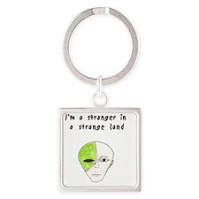 Stranger Square Keychain