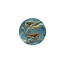 Mermaids Calendar 2013 uncovered Mini Button