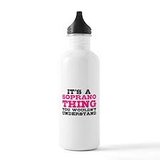 It's a Soprano Thing Water Bottle