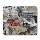 Americana Collage Mousepad