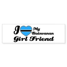 Botswanan girl friend Bumper Bumper Sticker