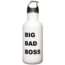 Big Bad Boss Funny Bos Water Bottle
