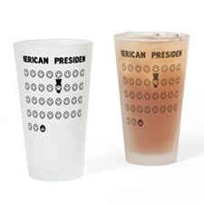 American presidents Drinking Glass