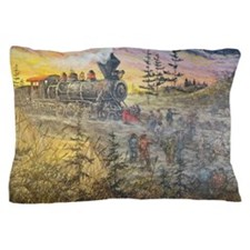 Connecting America Pillow Case