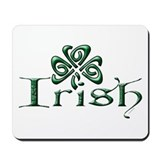 Irish: Shamrock Mousepad