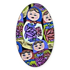 russian dolls Decal
