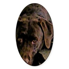 chocolate lab Decal