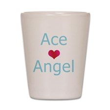 Ace + Angel Shot Glass