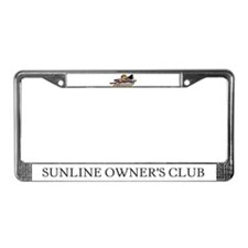 Sunline Owner's Club License Plate Frame