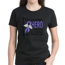 D Stomach Cancer Bravest Hero Tee