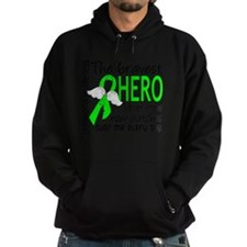 D Lymphoma Bravest Hero I Ever Knew Hoodie