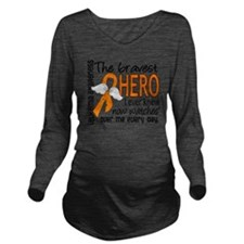 D Leukemia Bravest H Long Sleeve Maternity T-Shirt