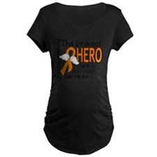 D Leukemia Bravest Hero I E T-Shirt