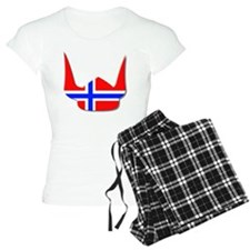 Norway Norse Helmet Flag De Pajamas