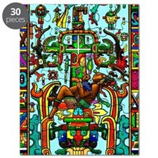 King Pakal Mayan ruler Puzzle