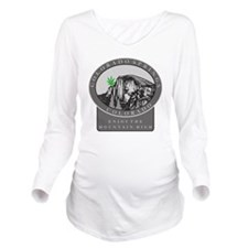 mj36light Long Sleeve Maternity T-Shirt
