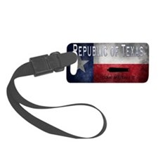 Republic of Texas Luggage Tag