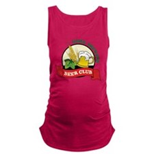 Home Brewers Maternity Tank Top
