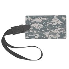Digital camo laptop skin Luggage Tag