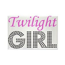 Twilight Girl Rectangle Magnet
