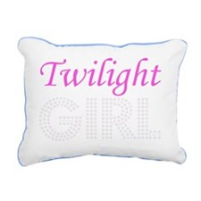 Twilight Girl Rectangular Canvas Pillow