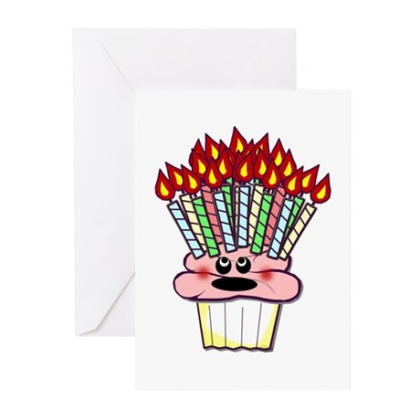 Over the Hill Cupcake Party Invitations (10)