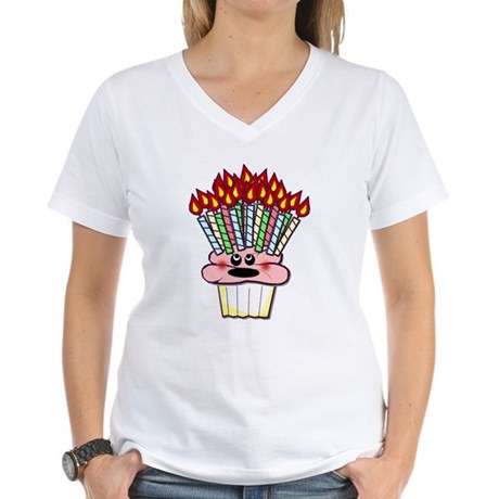 30th, 40th, 50th Birthday Women's V-Neck T-Shirt