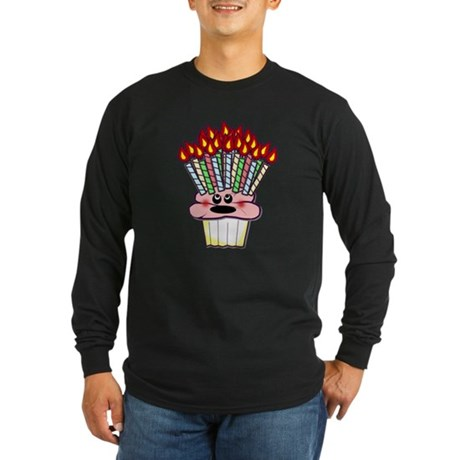 30th, 40th, 50th Birthday Long Sleeve Dark T-Shirt