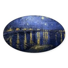 Van Gogh Starry Night Over Rhone Decal