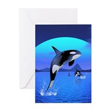 orca_84_curtains_835_H_F Greeting Card