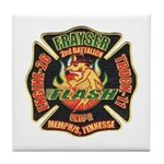 Memphis Fire Department Tile Coaster