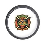 Memphis Fire Department Wall Clock