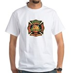 Memphis Fire Department White T-Shirt