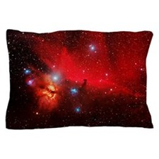 Horsehead and Flame nebulae Pillow Case