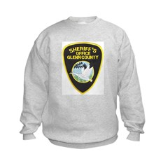 Glenn County Sheriff Kids Sweatshirt