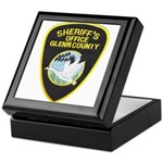 Glenn County Sheriff Keepsake Box