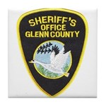 Glenn County Sheriff Tile Coaster