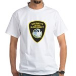 Glenn County Sheriff White T-Shirt