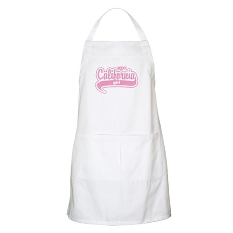 """100% California Girl"" BBQ Apron"