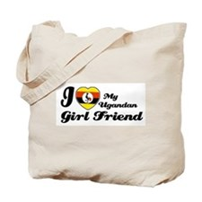 Ugandan girl friend Tote Bag