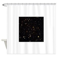 Hubble Ultra Deep Field galaxies Shower Curtain